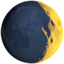 Waxing Crescent Moon Emoji (Apple)
