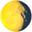 Waning Gibbous Moon Emoji (Apple)