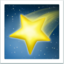 Shooting Star Emoji (Apple)