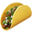 Taco Emoji (Apple)