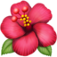 Hibiscus Emoji (Apple)