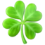 Four Leaf Clover Emoji (Apple)