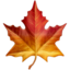 Maple Leaf Emoji (Apple)