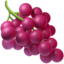 Grapes Emoji (Apple)