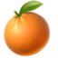 Tangerine Emoji (Apple)
