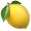 Lemon Emoji (Apple)