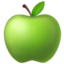 Green Apple Emoji (Apple)