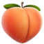 Peach Emoji (Apple)