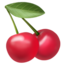 Cherries Emoji (Apple)