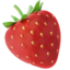 Strawberry Emoji (Apple)