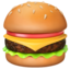 Hamburger Emoji (Apple)