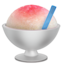 Shaved Ice Emoji (Apple)