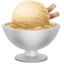 Ice Cream Emoji (Apple)
