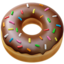 Doughnut Emoji (Apple)