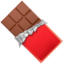 Chocolate Bar Emoji (Apple)