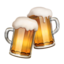 Clinking Beer Mugs Emoji (Apple)