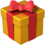 Wrapped Gift Emoji (Apple)