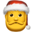 Santa Claus Emoji (Apple)