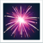 Fireworks Emoji (Apple)