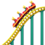 Roller Coaster Emoji (Apple)