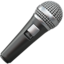 Microphone Emoji (Apple)