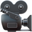 Movie Camera Emoji (Apple)