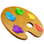 Artist Palette Emoji (Apple)