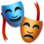 Performing Arts Emoji (Apple)