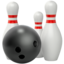 Bowling Emoji (Apple)
