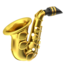 Saxophone Emoji (Apple)