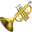 Trumpet Emoji (Apple)