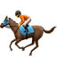 Horse Racing Emoji (Apple)