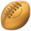 Rugby Football Emoji (Apple)