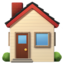 House Emoji (Apple)