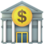 Bank Emoji (Apple)