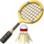 Badminton Emoji (Apple)