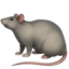 Rat Emoji (Apple)