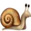 Snail Emoji (Apple)
