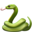 Snake Emoji (Apple)