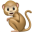 Monkey Emoji (Apple)