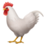 Rooster Emoji (Apple)