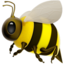 Honeybee Emoji (Apple)