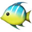 Tropical Fish Emoji (Apple)