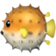 Blowfish Emoji (Apple)