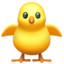 Front-Facing Baby Chick Emoji (Apple)