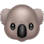 Koala Emoji (Apple)