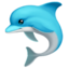 Dolphin Emoji (Apple)