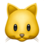 Cat Face Emoji (Apple)