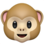 Monkey Face Emoji (Apple)