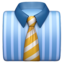 Necktie Emoji (Apple)